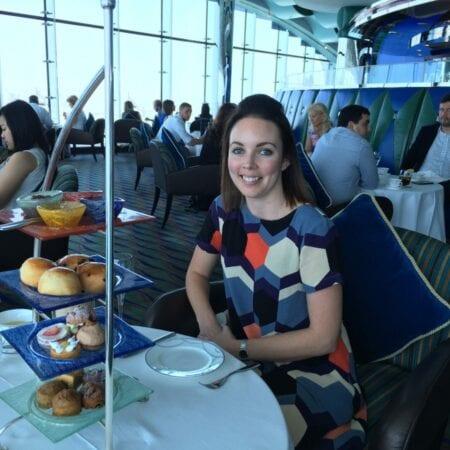 Afternoon Tea at Burj Al Arab