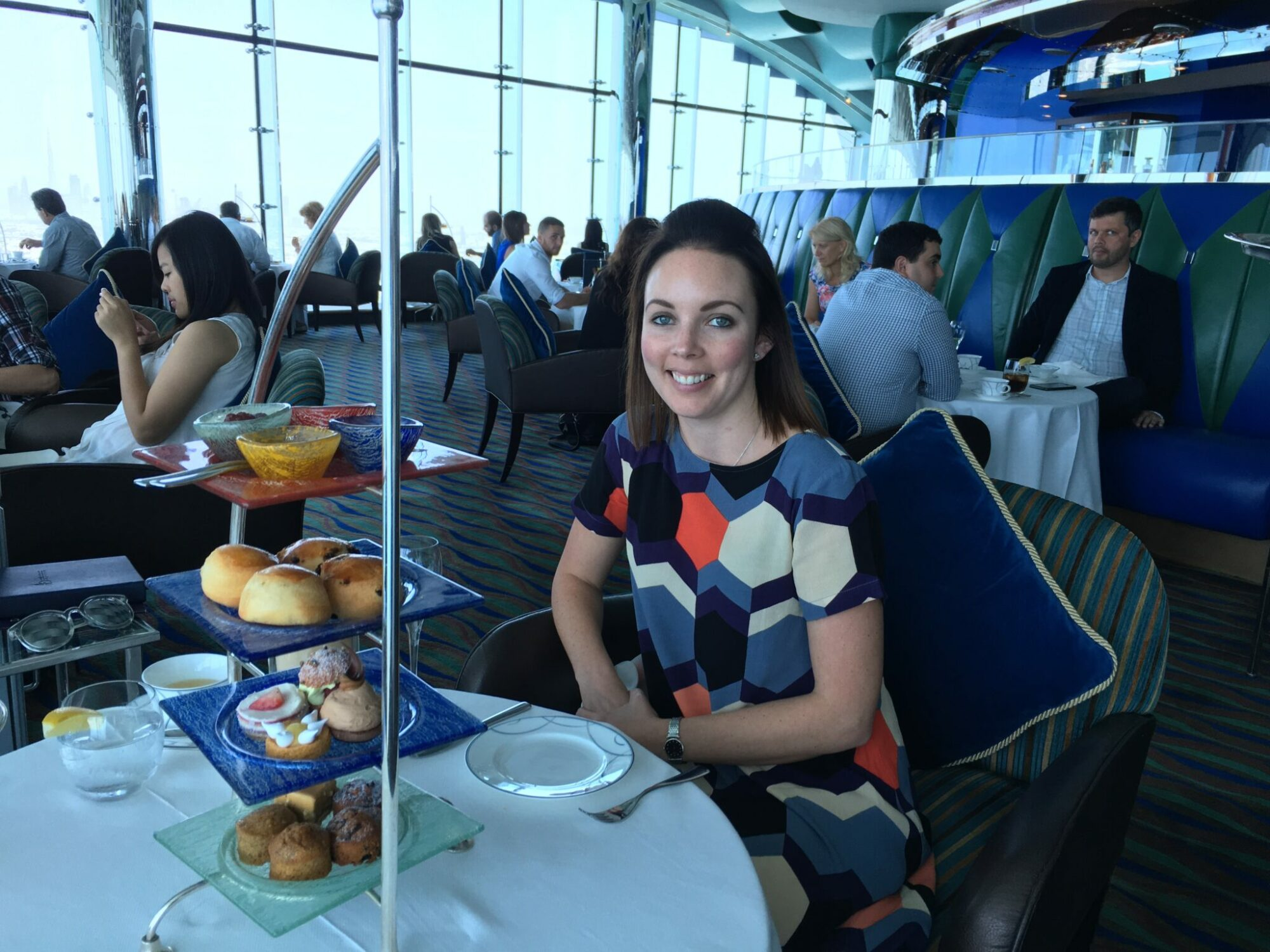 Afternoon Tea at Burj Al Arab