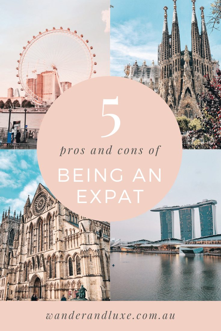 pros and cons of being an expat