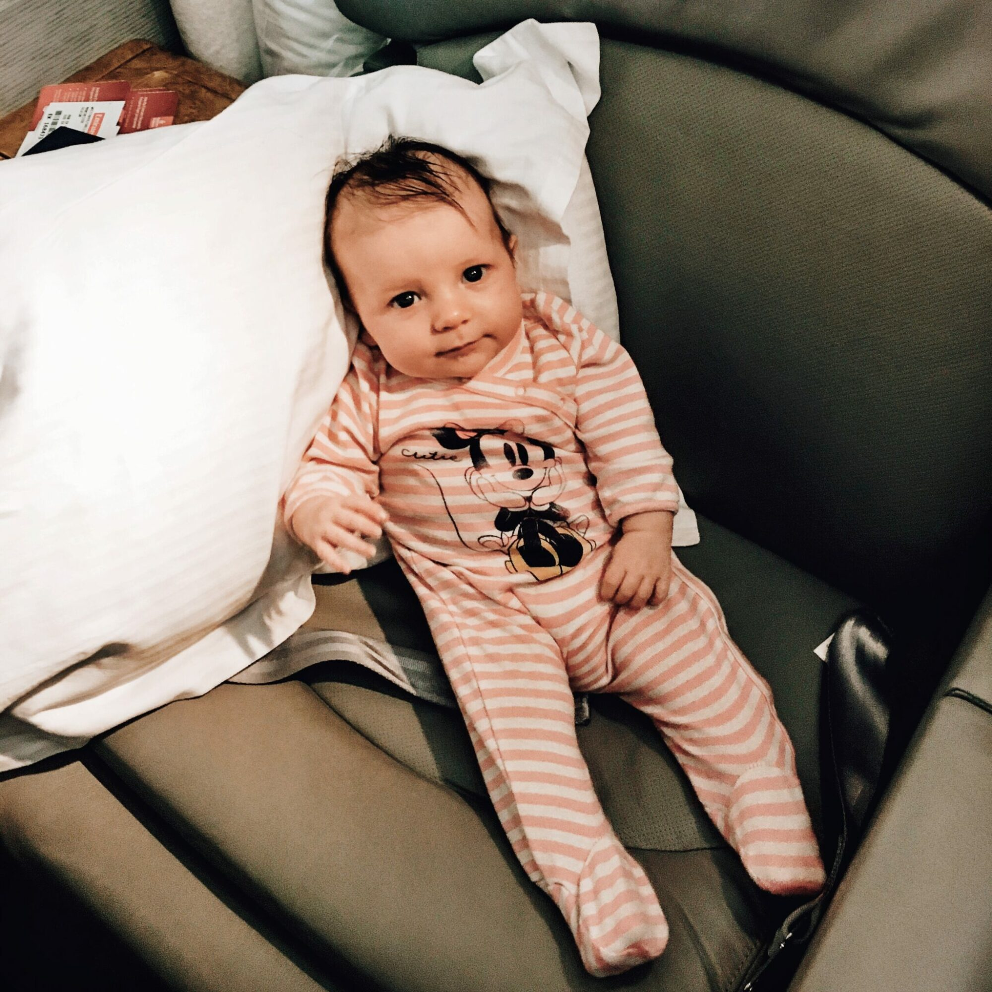 travel packing list for a baby