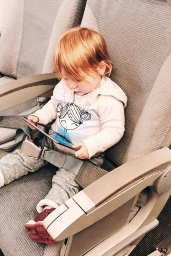 Toys to occupy toddler on a plane