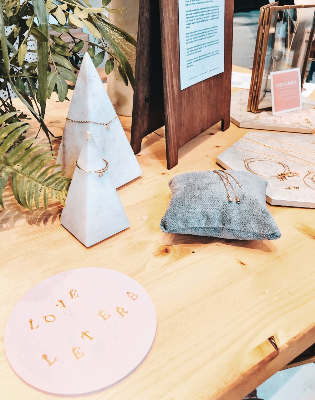 Love Letters Jewellry Collection Launch by Esme Louise