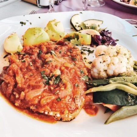 Tuna Steak Madeira