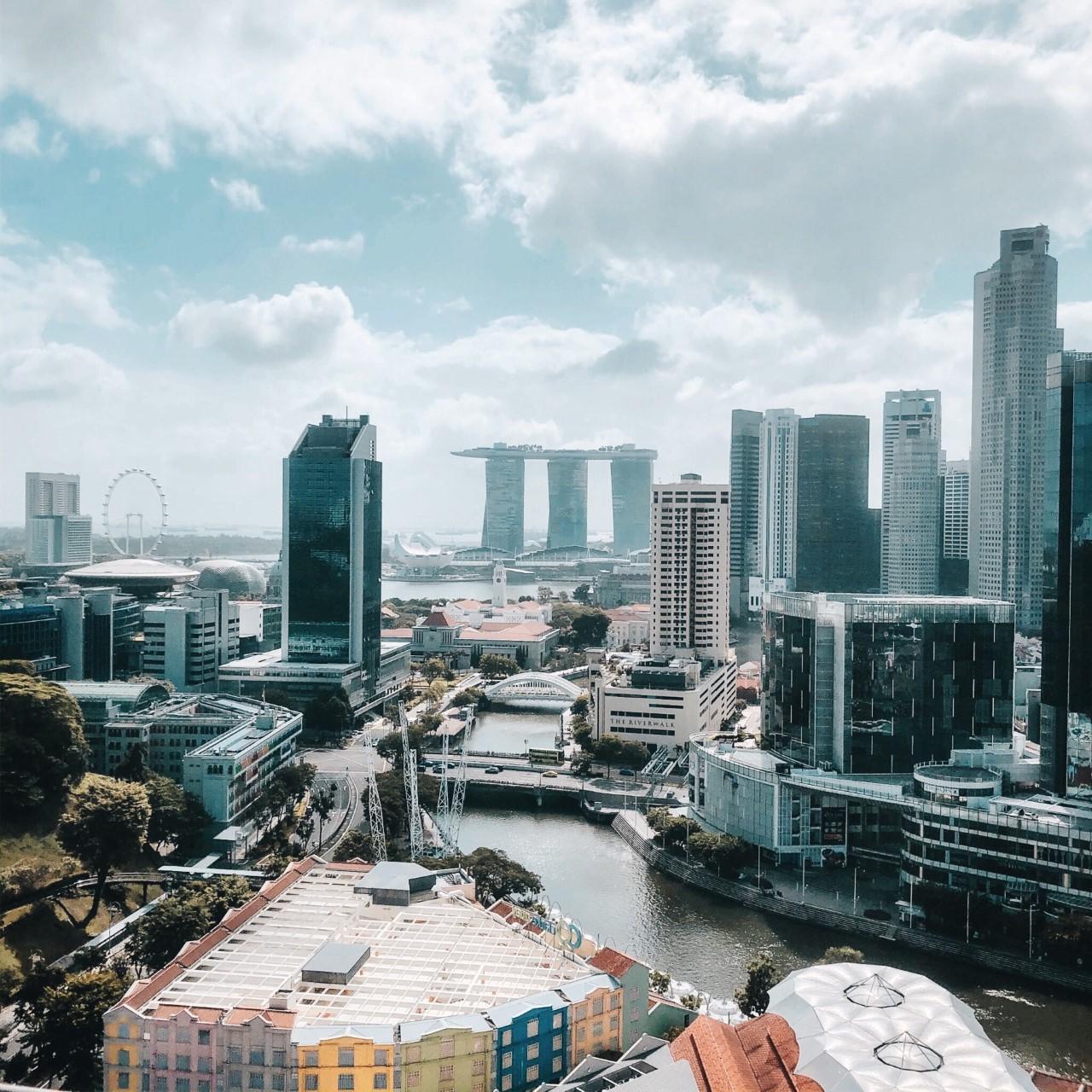 Singapore Sky Line