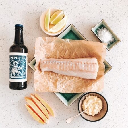Beer Battered Fish & Sweet Potato Fries Recipe